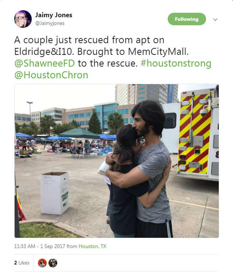 The unshakable Houston spirit reflected on social media as people began posting using #HoustonStrongvia social media Photo: Via Social Media