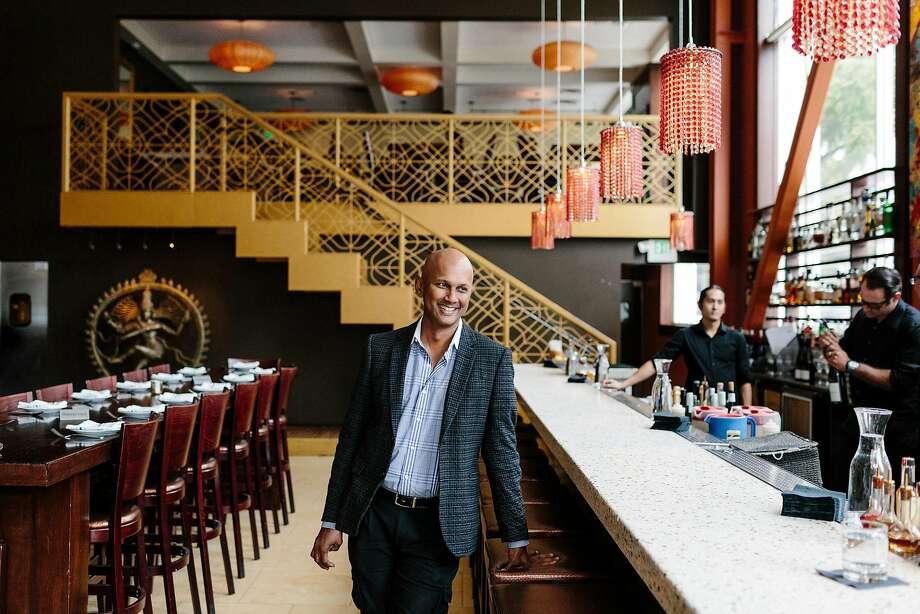 Anjan Mitra at Dosa in San Francisco. Photo: JASON HENRY, NYT