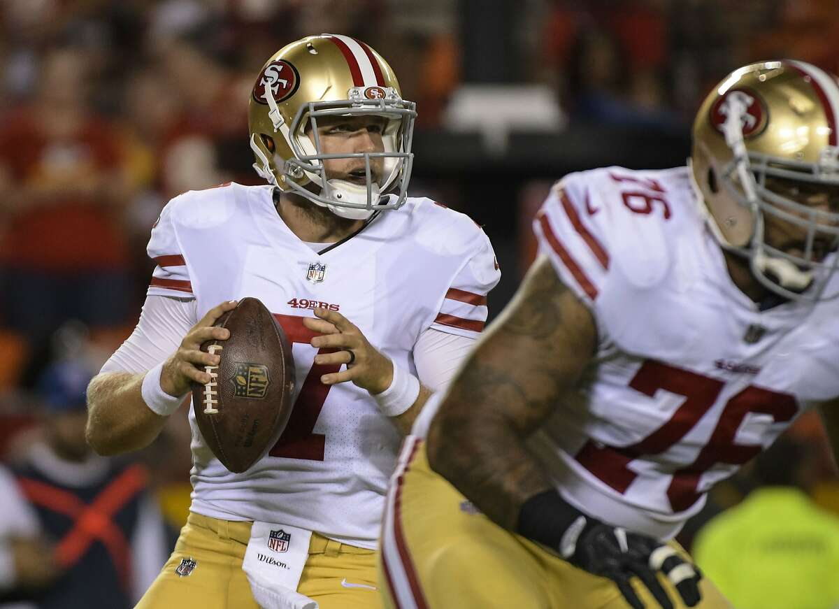 49ers' first roster cuts include Barkley, Hightower, Barnes