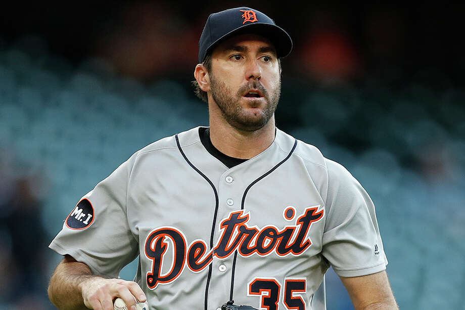 Justin Verlander is set to make his Astros debut Tuesday in Seattle. He's arguably their most notable trade acquisition since Randy Johnson in 1998. Photo: Karen Warren/Houston Chronicle