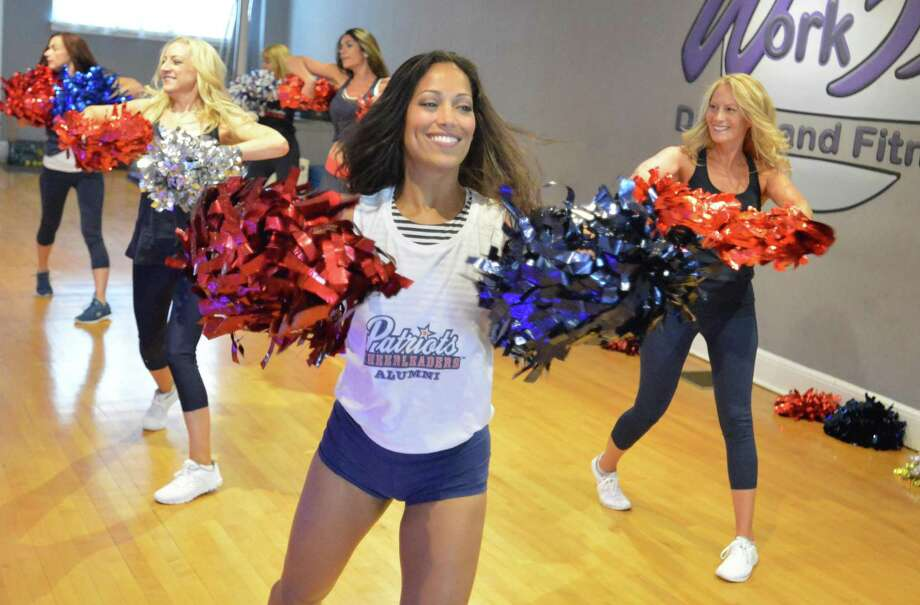 Former New England Patriot Cheerleaders alumni including Work It owner Michelle Abbruzzese, work on their routine together at Work It Dance and Fitness in Norwalk, on Sunday August 27, 2017 in Norwalk Conn. They are practicing for their Aug. 31 performance during the Patriots vs. Giants preseason game. Photo: Alex Von Kleydorff / Hearst Connecticut Media / Norwalk Hour