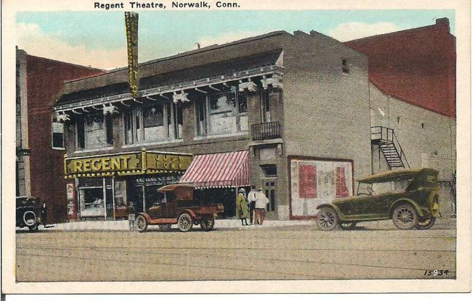 """The Wall Street Theater in Norwalk, pictured here in a historic postcard, will be among the stops along the """"Over Here: Norwalk in the First World War"""" tour. Photo: Contributed Photo / Norwalk Public Library History Room"""