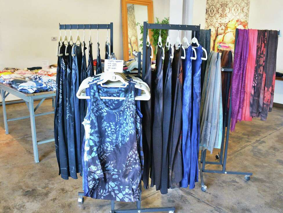 Marika Charles Factory textile art and design studio's showroom and gallery Friday Sept.1, 2017 in Schenectady, NY. (John Carl D'Annibale / Times Union)