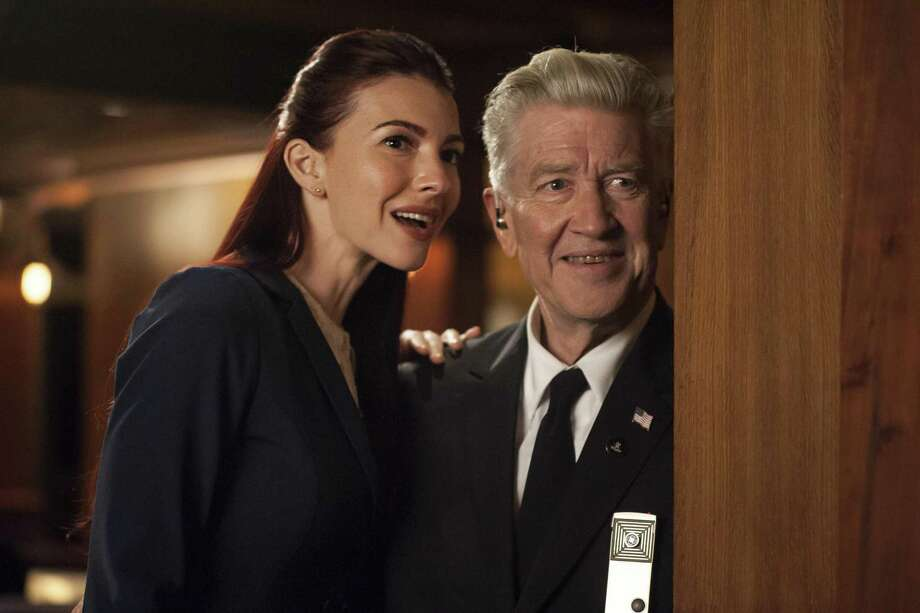 """David Lynch — with co-star and San Antonio native Chrysta Bell — reinvented television in a batty and brilliant way with """"Twin Peaks: The Return"""" on Showtime. Photo: Showtime / Rancho Rosa Partnership, Inc.  All Rights Reserved."""