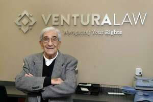 Americo S. Ventura, founding partner of a Danbury law firm, Monday, Dec. 5, 2016