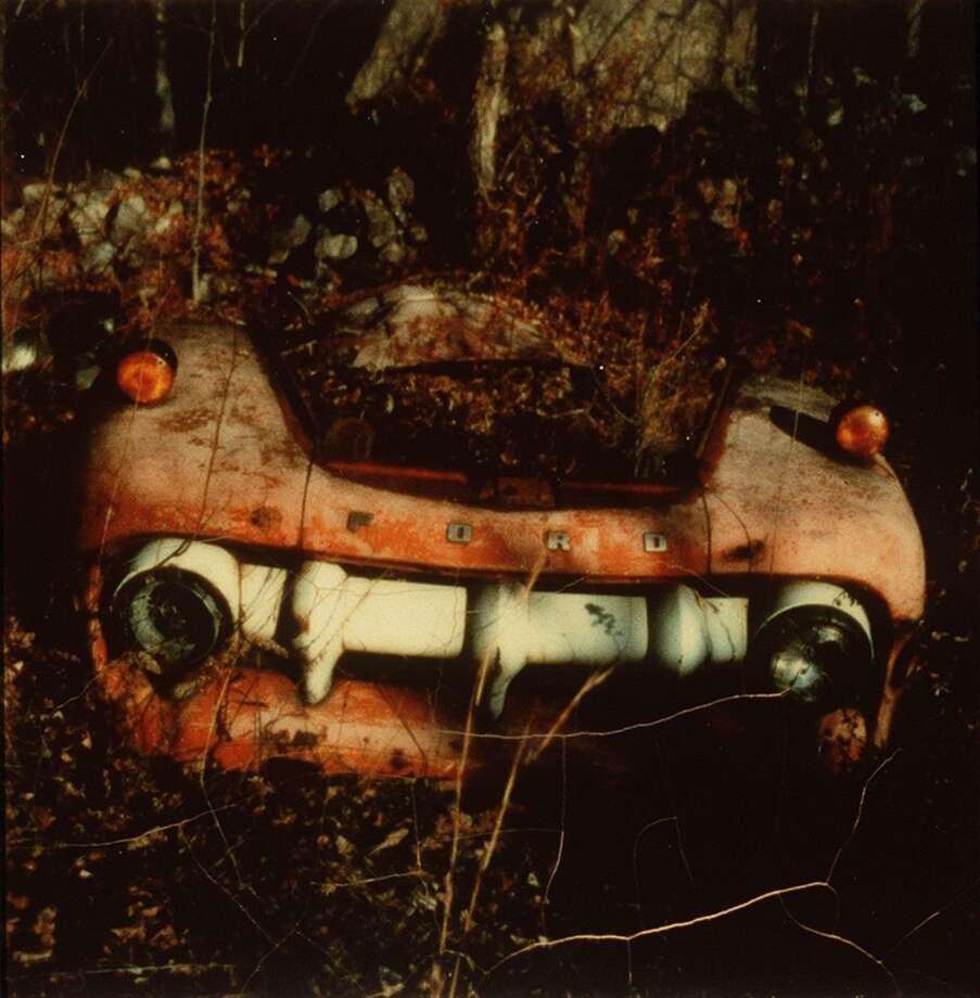 EVANS02C/C/31MAY00/DD/HO-1: Walker Evans, Junked Car, Old Lyme, Connecticut, 1973-74 HANDOUT Photo: HANDOUT / SFC / CHRONICLE