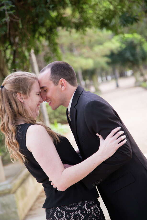 Susan Pittman and DanDan Zaksheske were forced to postpone their wedding after Hurricane Harvey crashed their plans. Photo: Amber Elliott / Candace Byers Photography