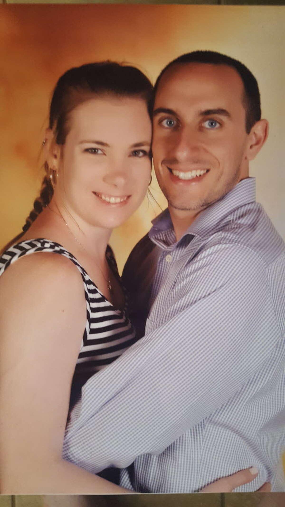 Susan Pittman and DanDan Zaksheske were forced to postpone their wedding after Hurricane Harvey crashed their plans.
