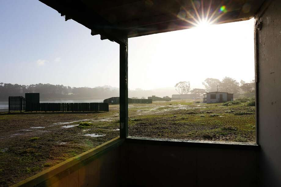 A view of the former Pacific Rod and Gun Club, in San Francisco, California, on Monday, Oct. 17, 2016. The Recreation and Park Commission will decide whether to lease space at Lake Merced West for a new recreation facility. Photo: Gabrielle Lurie, The Chronicle