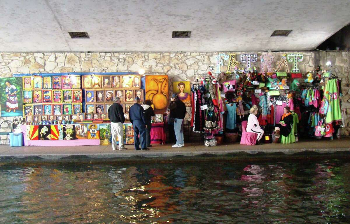 Spend your Labor Day enjoying the weather while shopping local goods and crafts at the River Walk Artisan Show. The show will feature artisans whose products range from home decor, clothing, jewelry and gardening items and takes place along the stretch of the River Walk near Rivercenter Mall. 10 a.m.-8 p.m. River Walk, more info at thesanantonioriverwalk.com-- Polly Anna Rocha