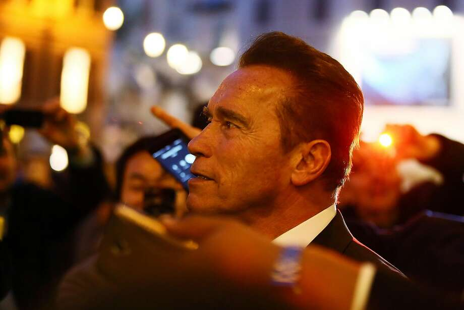 ROME, ITALY - JANUARY 25: Actor Arnold Schwarzenegger is seen at Piazza Di Spagna on January 25, 2017 in Rome, Italy. (Photo by Ernesto Ruscio/GC Images) Photo: Ernesto Ruscio, GC Images