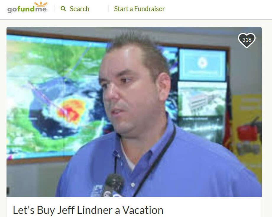 A GoFundMe to send Jeff Lindner, the Harris County Flood Control District Meteorologist, on a much-needed vacation was set up Aug. 31 with a goal of $4,000 and has already more than doubled it's goal. Lindner worked tirelessly to provide the city of Houston with vital information as Hurricane Harvey wreaked havoc.>> See the aftermath and clean up efforts of HarveyPhoto: Jeff Lindner GoFundMe Campaign