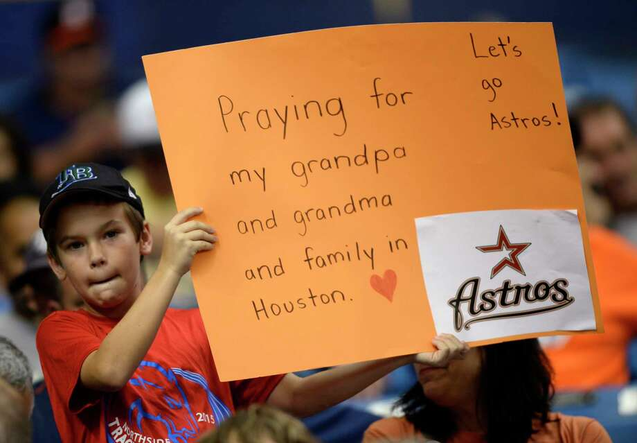 Astros moving series to Florida due to Hurricane Harvey