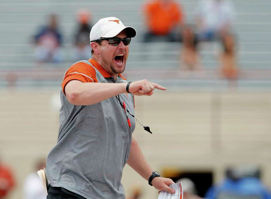 First-year Texas coach Tom Herman has vowed not to let the program repeat the mistakes of its previous disappointing seasons. Photo: Tim Warner, Contributor / 2017 Tim Warner