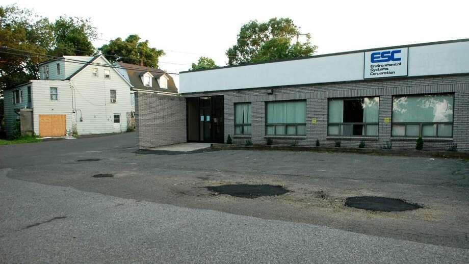 Former Technology Marketing Corp , 1 Technology Plaza at 153 W. Cedar Street in Norwalk, Conn. Photo: Cathy Zuraw / Connecticut Post