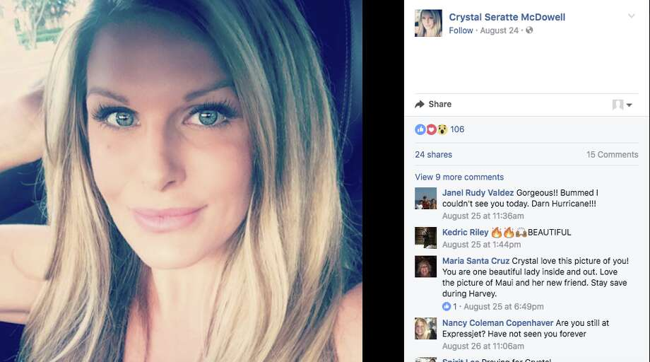 BaytownCrystal McDowell's slaying, which began with a two-week missing person search after Hurricane Harvey, shocked Houstonians when her ex-husband allegedly confessed to murdering her. Steve McDowell has since been indicted in the case. Photo: Crystal McDowell/Facebook