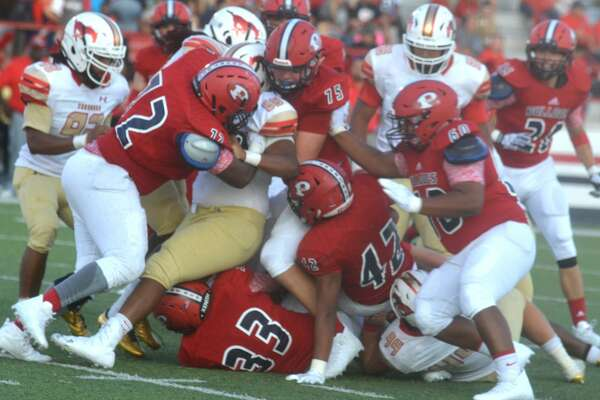 Photos of the Plainview football team's opening game against Lubbock Coronado.