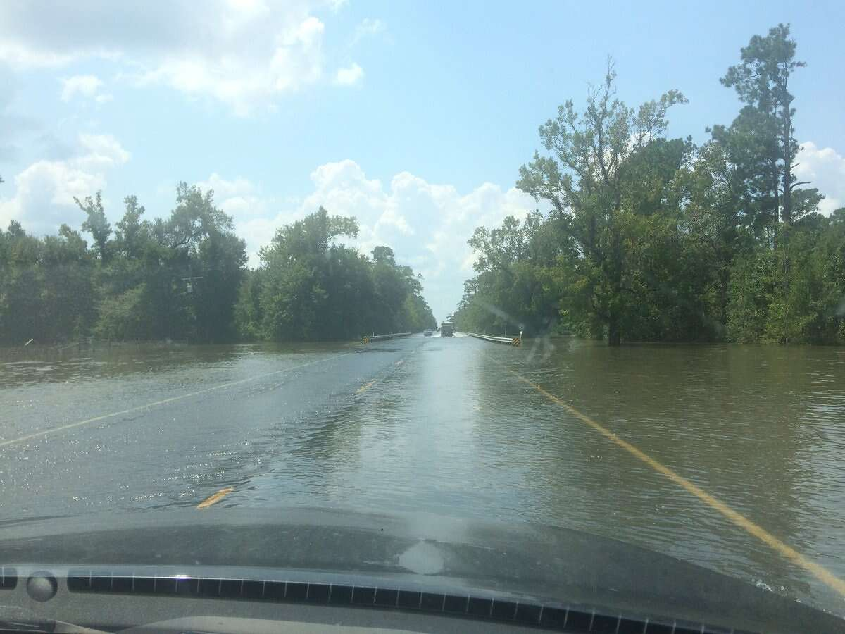 Highway 124 near Hamshire. Photo: Danny Shapiro