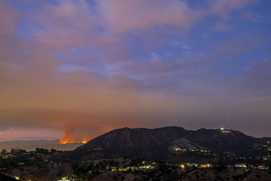 Los Angeles battles 'largest wildfire in city history&#39
