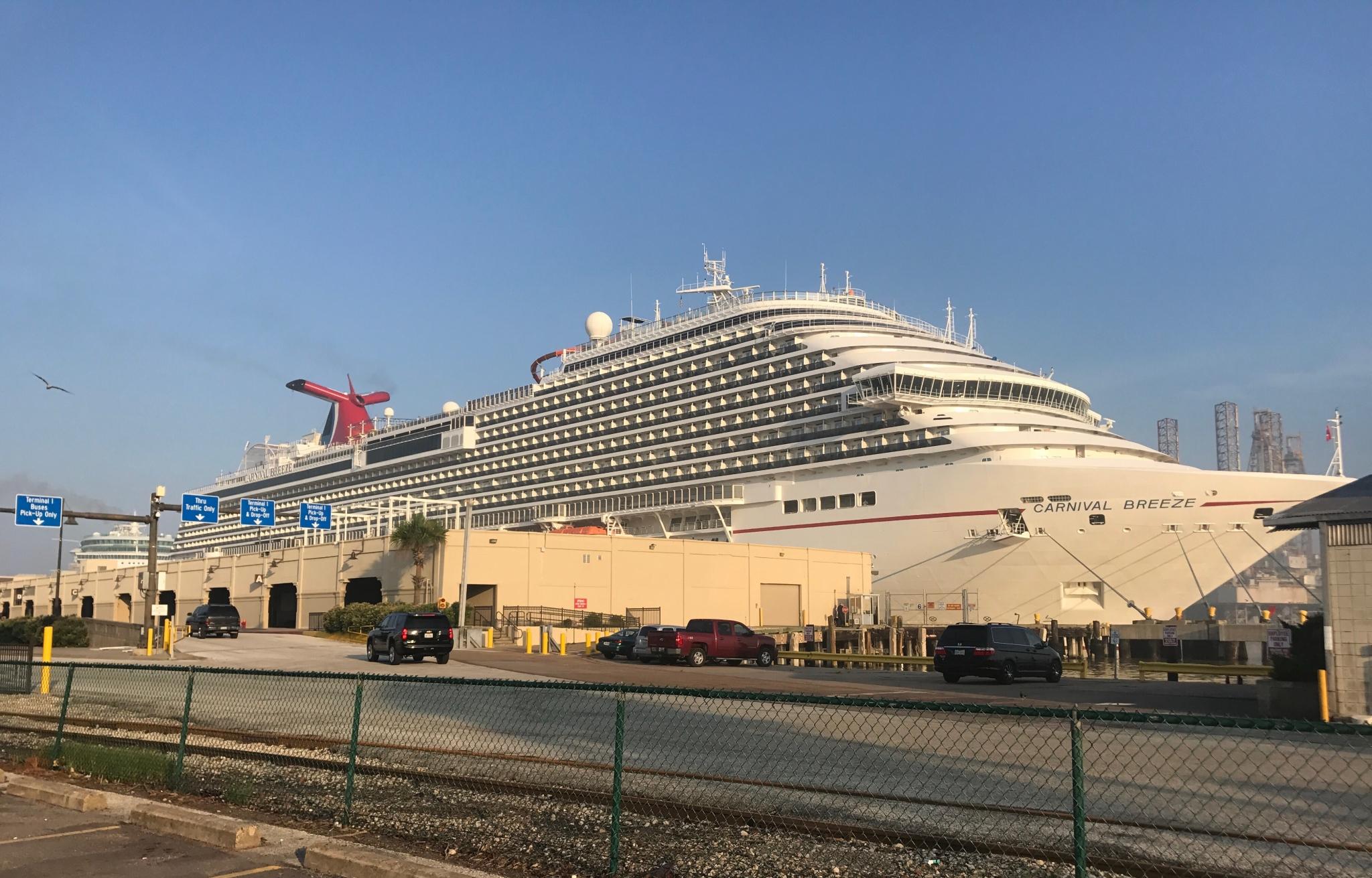 Last Galveston Cruise Stuck At Sea Due To Harvey Makes