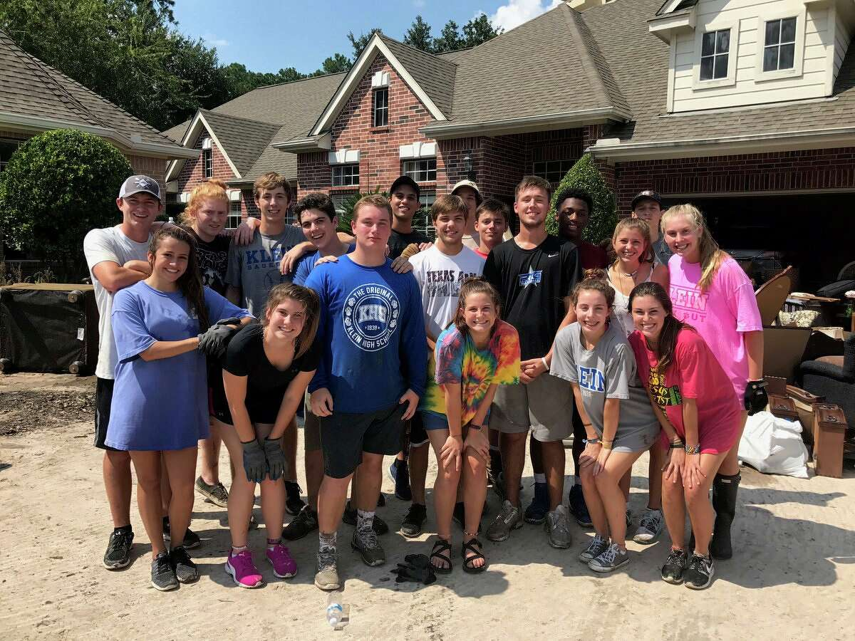 Klein ISD's vision for its students - 'promise to purpose' - played out in concrete, tangible fashion as its community responded to Hurricane Harvey.
