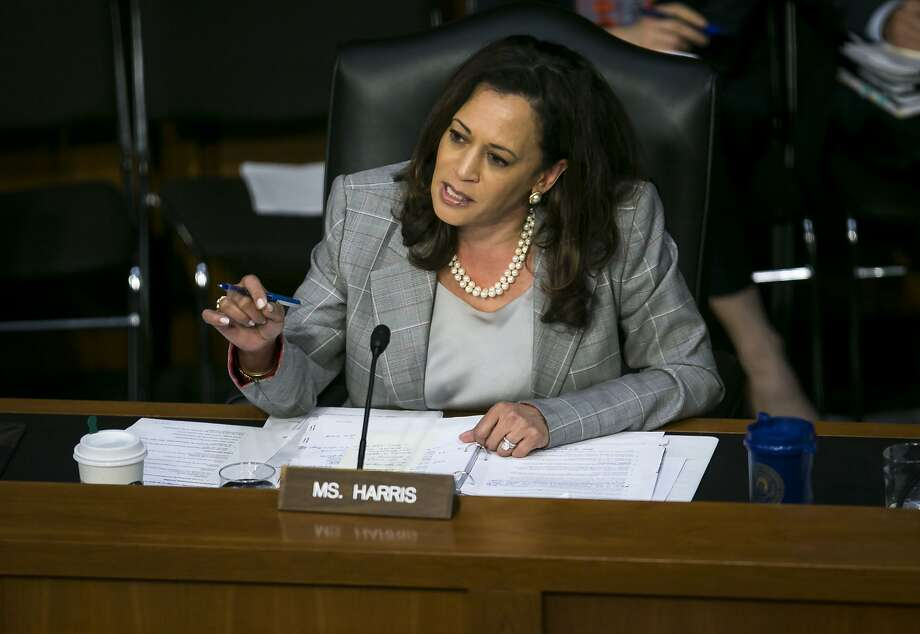 "The decision, said Sen. Kamala Harris, ""undermines our nation's values 