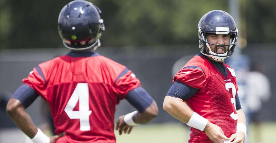PHOTOS: Texans' 53-man rosterTom Savage (right) and Deshaun Watson (left) are the quarterbacks on the Texans' 53-man roster.Browse through the photos to see a breakdown of the Texans' roster for the upcoming season. Photo: Brett Coomer/Houston Chronicle