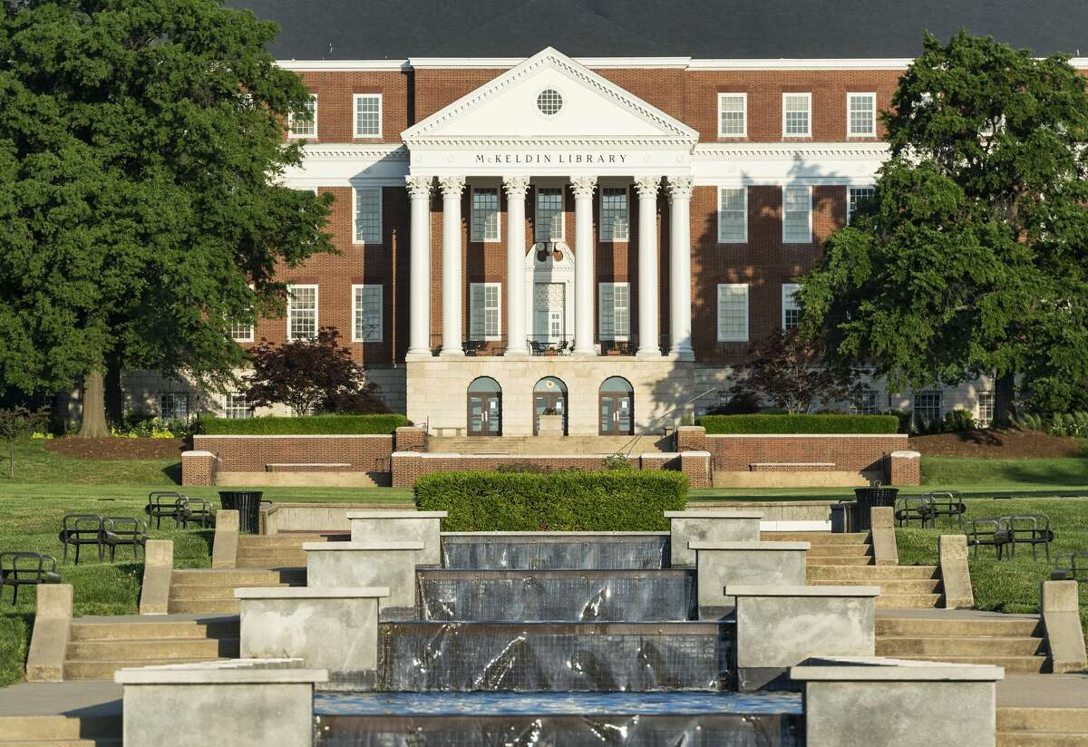 University of Maryland-College Park Out-of-state tuition and fees: $33,606 In-state tuition and fees: $10,399 Undergraduate enrollment: 29,868 Percentage of undergraduates from out-of-state: 27% Rank: 20 (Photo by John Greim/LightRocket via Getty Images)