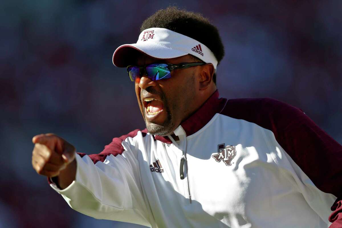Texas A&M head coach Kevin Sumlin, one of the nation's highest paid coaches at $5 million per year, says the Aggies have fared better than a lot of A&M teams over the last 20 years.