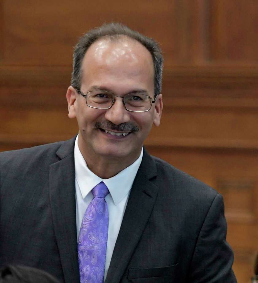 The Board of Trustees of the State University of New York named Dr. Havidan Rodriguez as the 20th president of the University at Albany Wednesday June 21, 2017 during a board meeting at SUNY Central in Albany, N.Y.  (Skip Dickstein/Times Union) Photo: SKIP DICKSTEIN / 20040841A