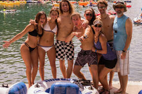 Tubers made the most of Labor Day weekend Saturday Sept. 2, 2017, on the Guadalupe River as they floated, frolicked and splashed around during the unofficial last bash weekend of the summer tubing season.