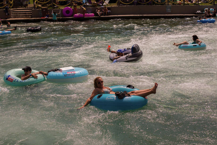 With weekend temperatures near 90 degrees, the weather will be great for tubing. Photo: Kody Melton For MySA