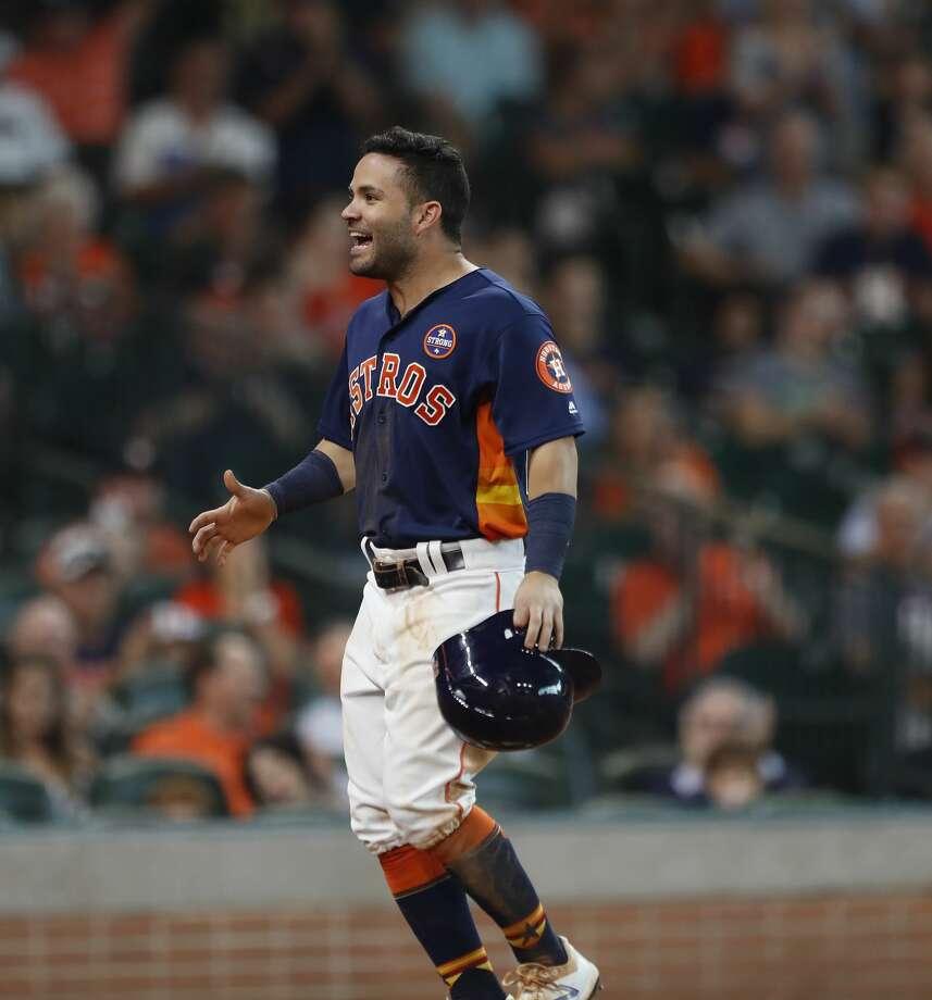 buy popular 284db d4950 Jose Altuve selected as Astros' nominee for Roberto Clemente ...