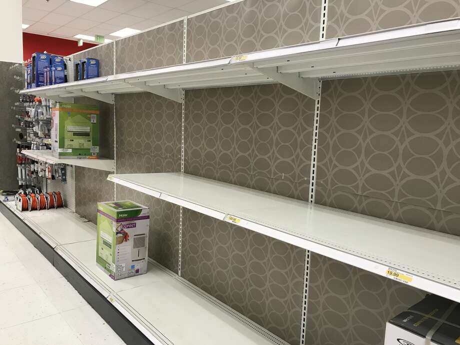 City Target at the Metreon has been sold out of fans since Friday, with all new stock being picked up within 10 minutes of opening, a manager said. Photo: Dianne De Guzman / SFGATE