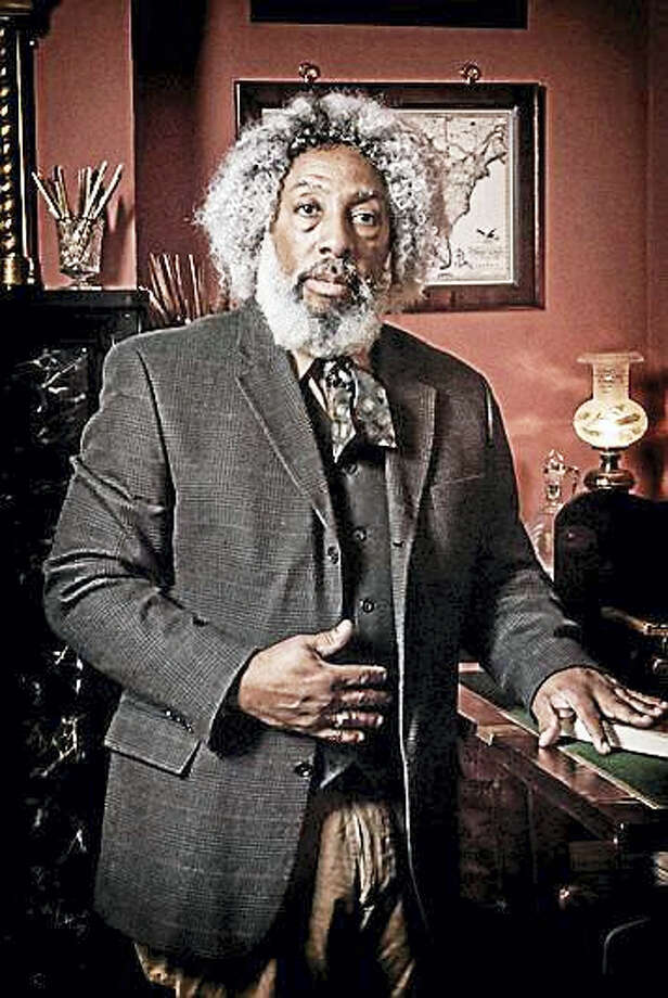 Nathan M. Richardson will portray abolitionist Frederick Douglass at a celebration sponsored by the Amistad Committee on Sept. 16. Photo: COURTESY NATHAN M. RICHARDSON / Michael Wade 757.961.6619