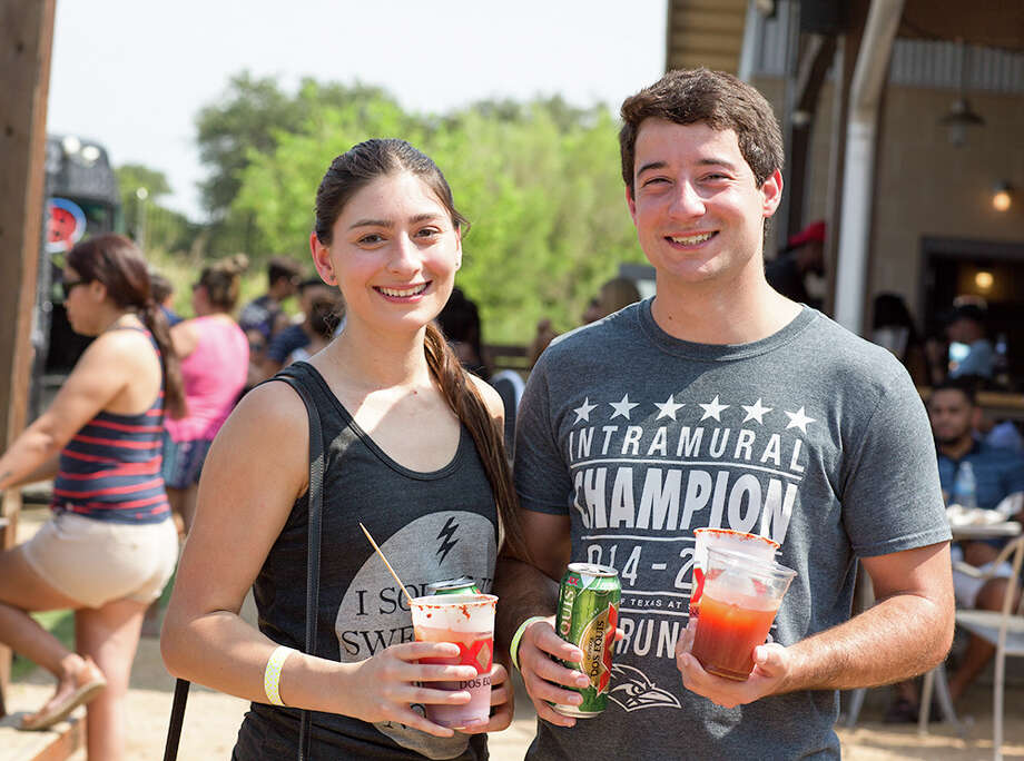 FILE - A spicy time was had by all during the Michelada Mayhem at The Block Sunday Sept. 3, 2017. A new type of michelada fest will take place on Sunday at chef Johnny Hernandez's La Gloria near the Dominion.Click ahead to look back at S.A.'s last michelada fest. Photo: B. Kay Richter  For MySA