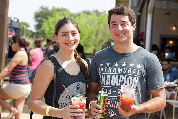 A spicy time was had by all during the Michelada Mayhem at The Block Sunday Sept. 3, 2017.
