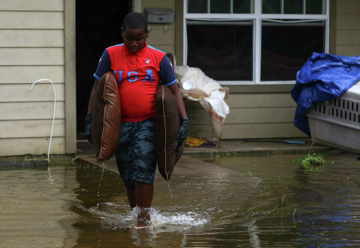 A new CityLab report found that Harvey recovery funds are helping white, wealthy communities more than working-class cities with large minority populations. >>> See where the most homes were flooded during Hurricane Harvey