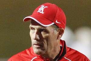 Katy head football coach Gary Joseph