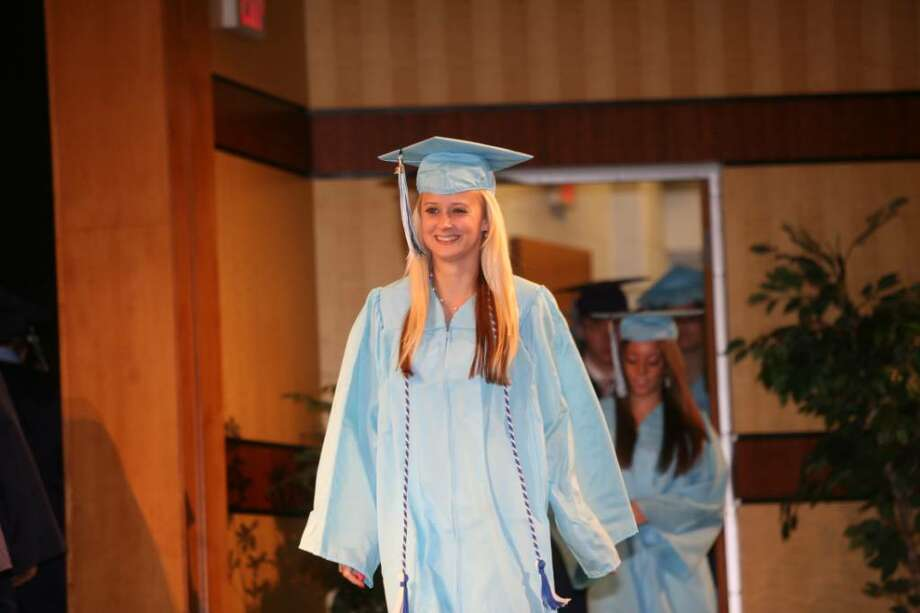 Oxford High School's inaugural graduation on Monday, June 21, 2010. Photo: Brian A. Pounds / Connecticut Post
