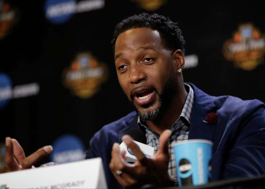 Tracy McGrady answers questions at the Basketball Hall of Fame news conference, Saturday, April 1, 2017, in Glendale, Ariz. (AP Photo/David J. Phillip) Photo: David J. Phillip, STF / Copyright 2017 The Associated Press. All rights reserved.