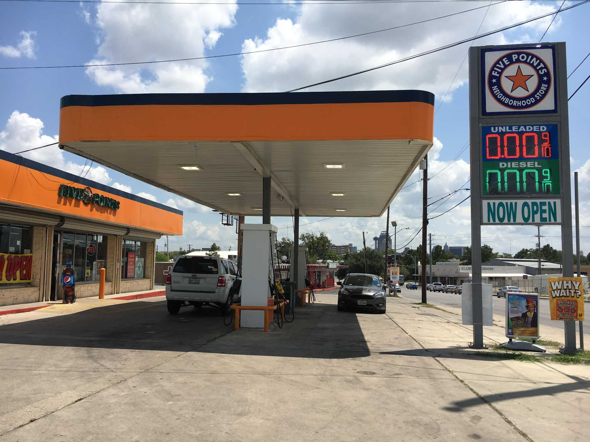 s a gas stations slowly recovering from rush for fuel
