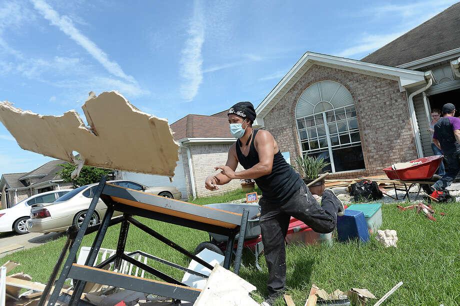 Jefferson County58,877 FEMA registrations as of Sept. 12$12 million approvedPhoto takeninPort Neches on Monday, September 4, 2017Kim Brent/The Enterprise Photo: Kim Brent / BEN