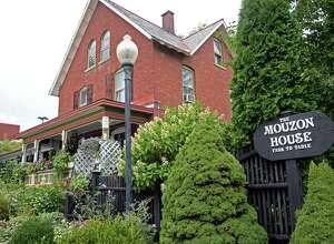 Exterior of the Mouzon House restaurant Thursday Sept. 10, 2015 in Saratoga Springs, NY.  (John Carl D'Annibale / Times Union)