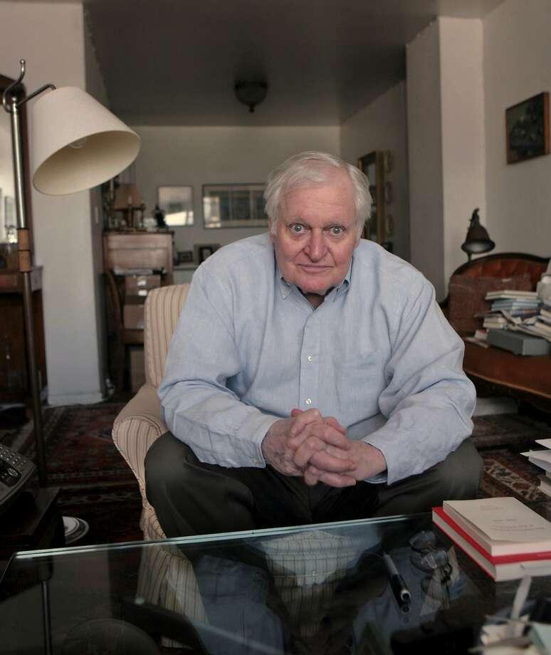 John Ashbery: His death spells the end of an epoch. Photo: Bebeto Matthews, Associated Press