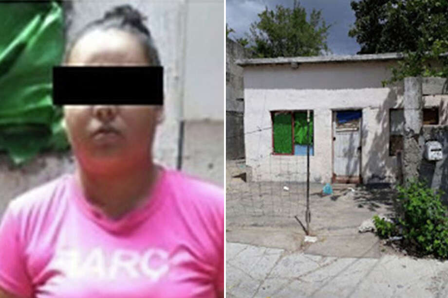 Tamaulipas' attorney general said they served an arrest warrant on a woman they identified as Andrea La Parca for her alleged involvement in the kidnapping of 11 immigrants, including two juveniles. Photo: Courtesy