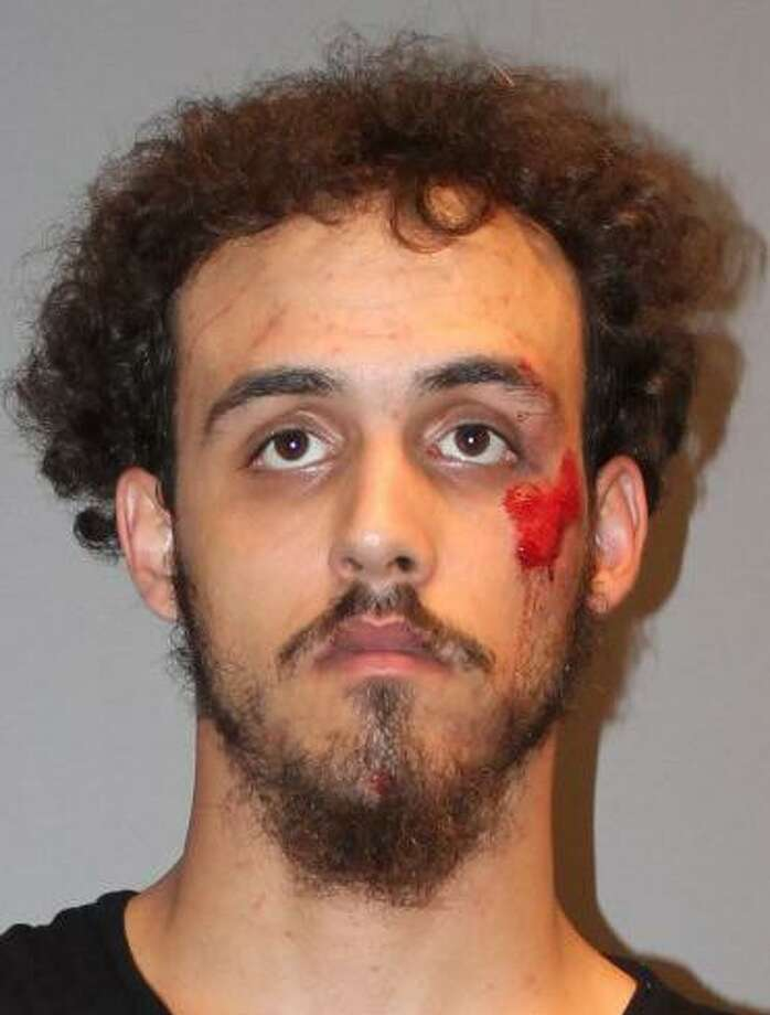 Paul Thompson, 21, of Bridgeport was arrested on Sunday, Sept. 4, 2017 in connection with the Pickel Barrel Deli located at 1889 Main St. in Stratford. Also charged was Josue Rivera-Suarez, 26, of Bridgeport. Photo: Stratford Police Department Photo