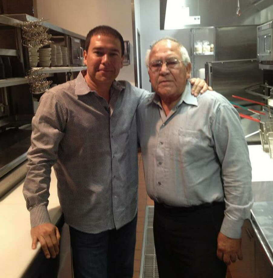 One of the men who helped push Tex-Mex food into the mainstream in Houston, Eugene Ybarra, has died. Ybarra (at right) was 81 years old and had been suffering from complications from diabetes. See which Tex-Mex places in Houston people are addicted to... Photo: Russell Ybarra