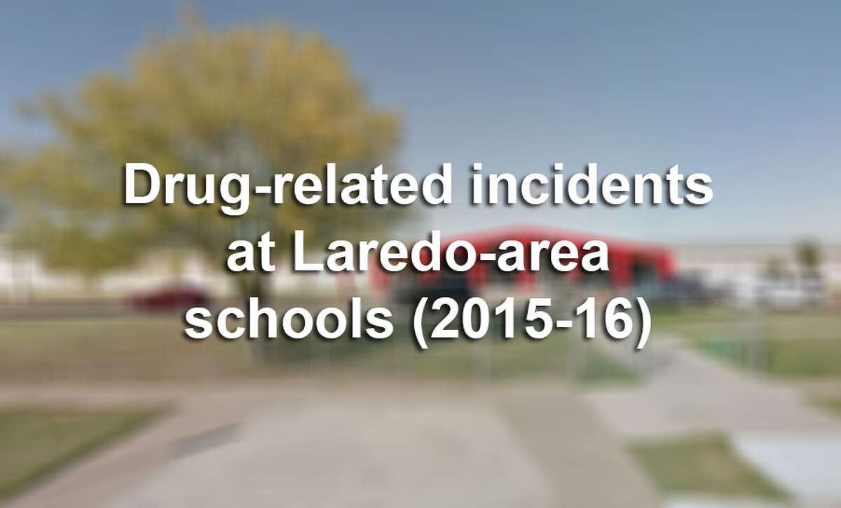Click through this gallery to see the number of drug-related incidents at Laredo-area schools for the 2015-16 school year, according to TEA data.