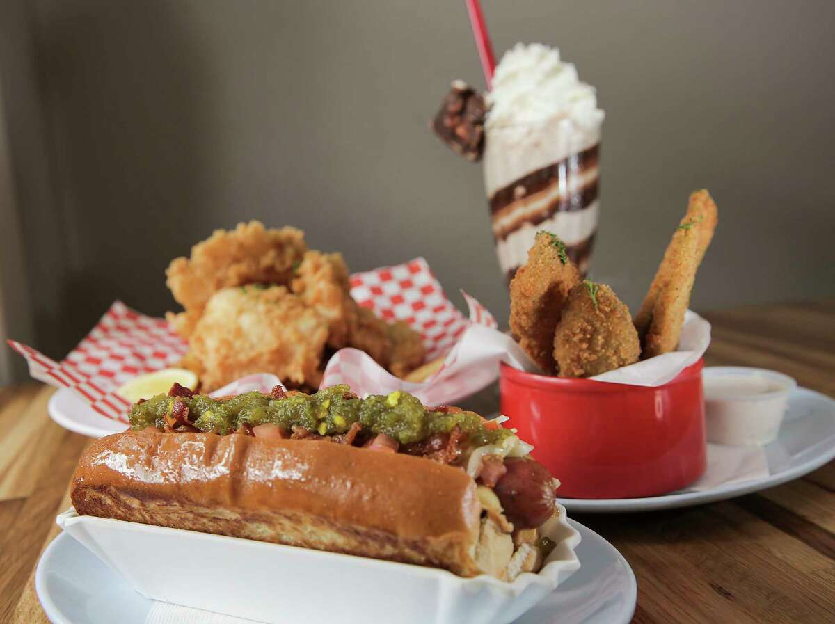 After a challenge from Pink's Hot Dogs, Good Dog Houston promoted on their Twitter account that they're going to give out 250 free hot dogs at both of their Houston locations, according to their Twitter account. More information.